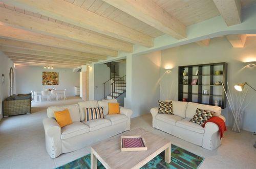 Azzurro cignella estate vakantiehuis in trequanda siena toscane - Eetkamer leunstoel ...