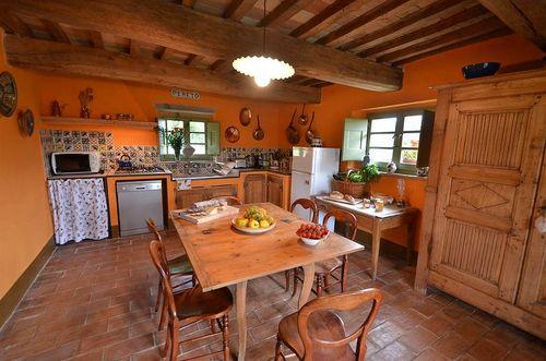 Pereto vakantiehuis in montone perugia toscane - Eetkamer leunstoel ...