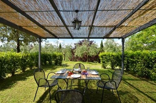 Ginestra le rocche di valiano vakantiehuis in castelnuovo berardenga siena toscane - Bedekte pergola ...