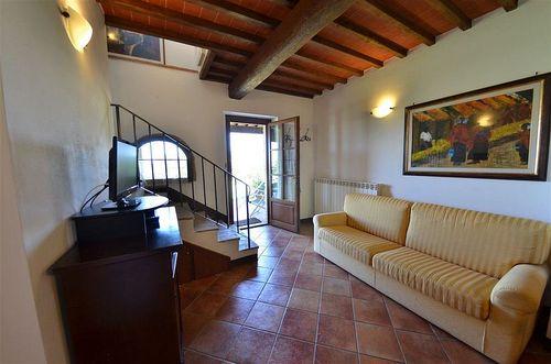Paglia vecchio fienile vakantiehuis in sant 39 appiano barberino val d 39 elsa florence toscane - Gemeubileerde woonkamer ...