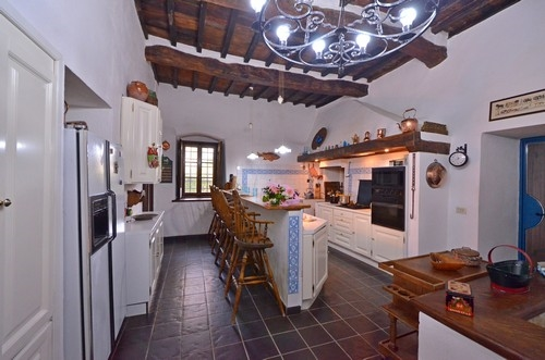 Porciglia alta vakantiehuis in greve in chianti florence toscane - Entreehal met trap ...