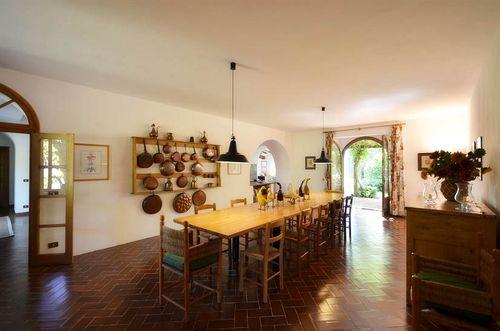 Sesta di mezzo vakantiehuis in gaiole in chianti siena toscane - Eetkamer leunstoel ...