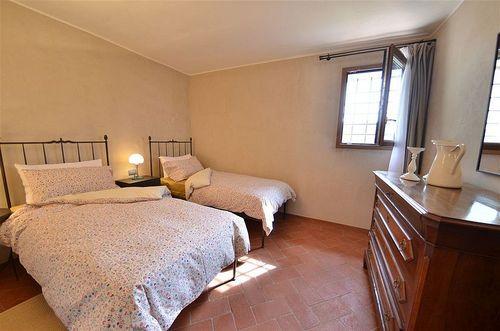 Venus casalta vakantiehuis in castellina in chianti siena toscane - Plan slaapkamer kleedkamer ...