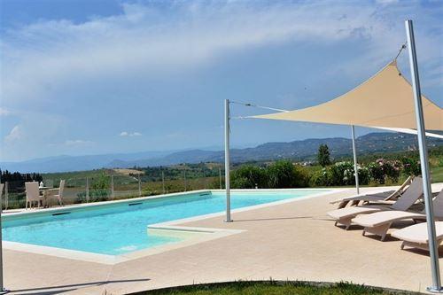 Casetta i 19 vakantiehuis in vinci florence toscane - Rond het zwembad ...