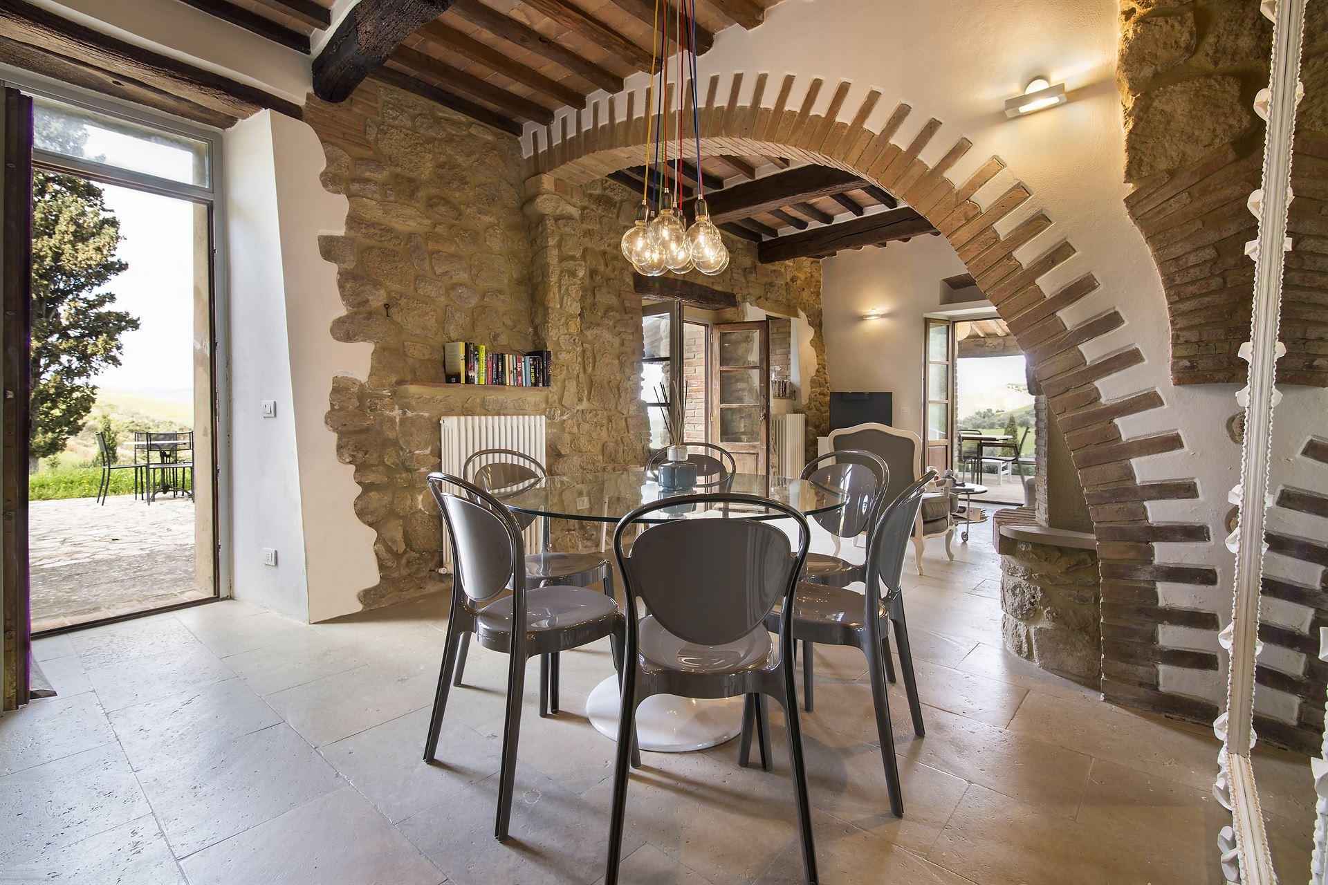 Villa fraggina vakantiehuis in volterra pisa toscane